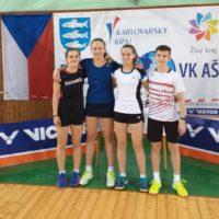 GPA U15 – dívčí paráda: Valérie s Bárou přivezly tři medaile z Aše