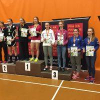 GPA U19 v Praze s deblovým bronzem a debut Lucky na GPA U13