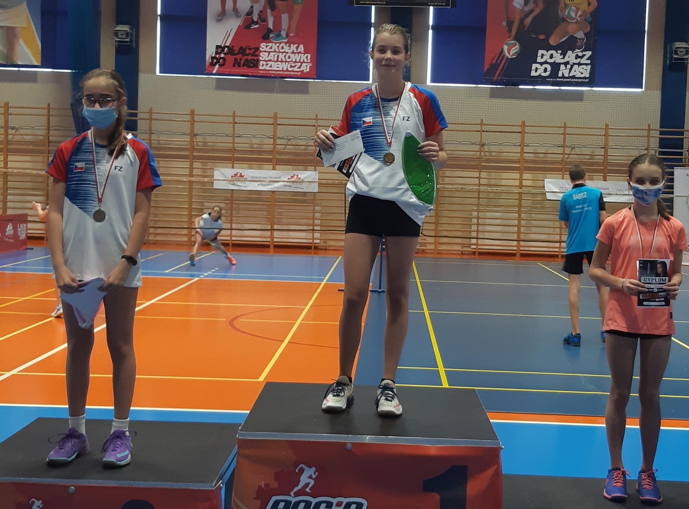 GP Ziemi Pszczynkiej w badmintonie 8.11.2020