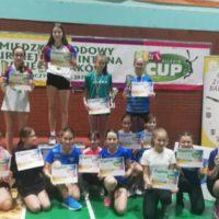 Miedzynarodowy turniej badmintona Glubczyce 12.12.2020